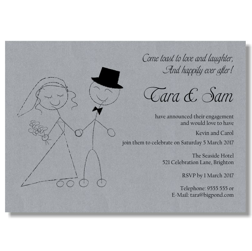 Engagement Invites Template | Best Template Collection