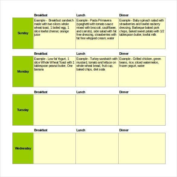 Menu Templates – 27+ Free Excel, PDF, PSD Documents Download ...