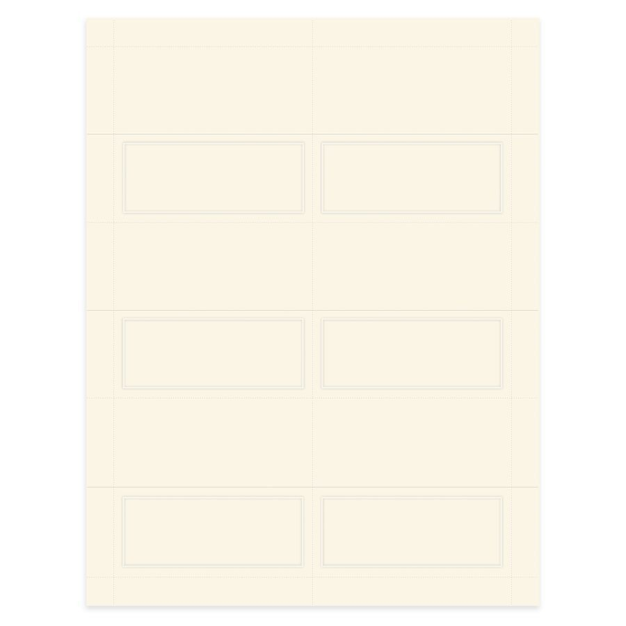 Gartner Studios Place Cards Pearlized 4 x 3 Ivory Pack Of 48 by ...