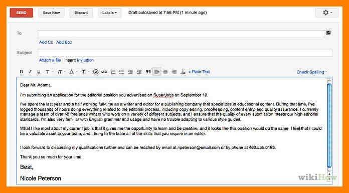 sample letter to send resume email cover letter sample network