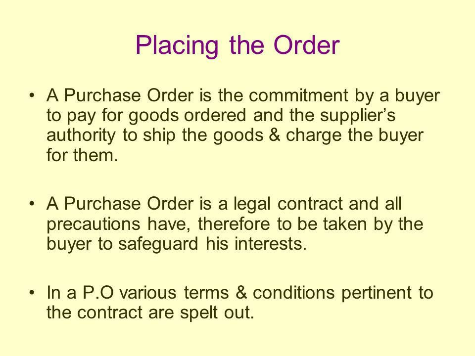 Module 3 Purchasing. - ppt download