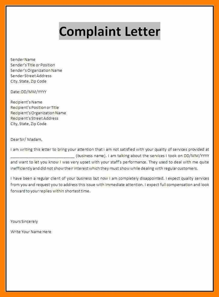 Formal Complaint Letters. Image Titled Write A Complaint Letter To ...