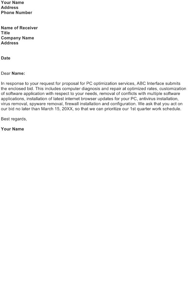 Transmittal Letter Template - Download FREE Business Letter ...