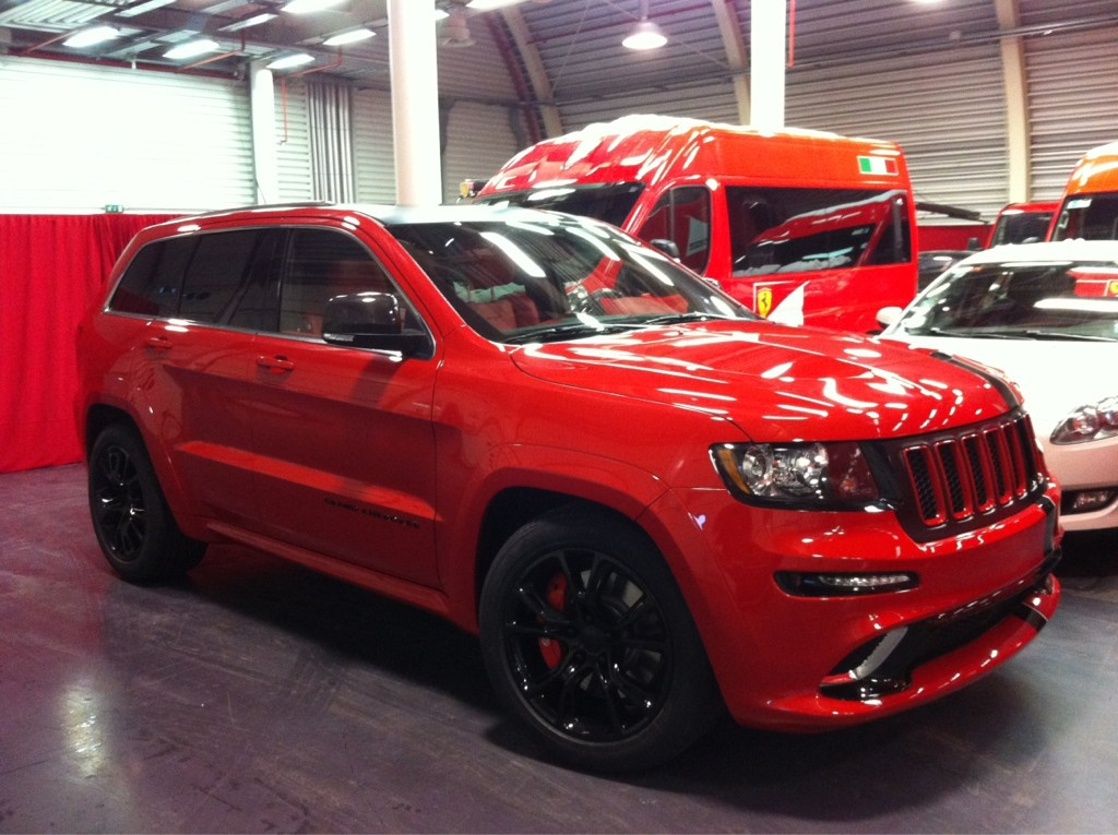 jeep grand cherokee 2012 srt8 in cars trucks ebay autos post. Black Bedroom Furniture Sets. Home Design Ideas