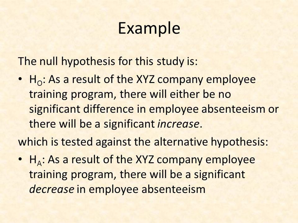 Research Hypothesis. - ppt video online download