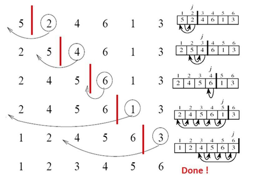 Insertion Sort | Pseudo Code of Insertion Sort | Insertion Sort in ...