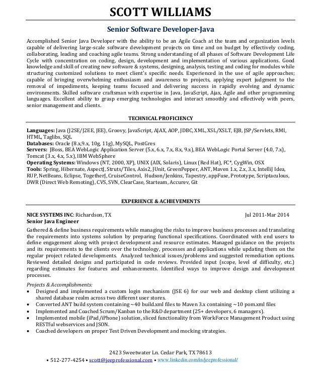 Download Agile Resume | haadyaooverbayresort.com