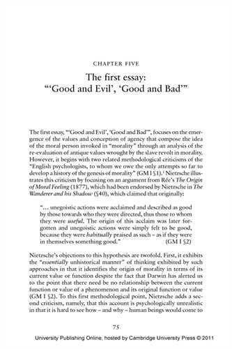 Examples of Bad Essay - College Essays - 1025 Words