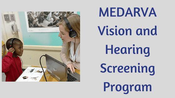 MEDARVA Vision and Hearing Screening Program - KnowDifferent.net