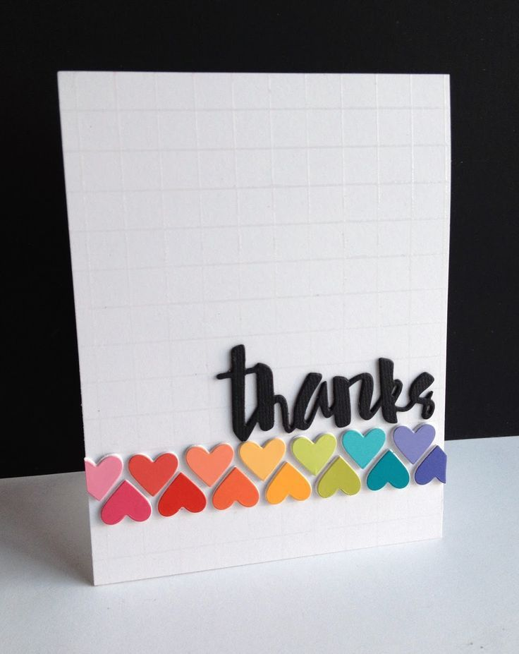 224 best ♥ thank you cards ♥ images on Pinterest | Handmade ...