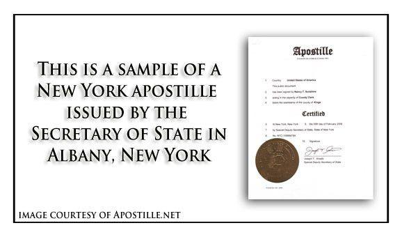 New York Apostille - Apostille Service by Apostille.net