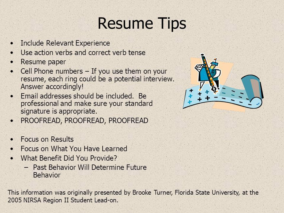 March to Employment Success Topic: Resumes. The Resume and the ...