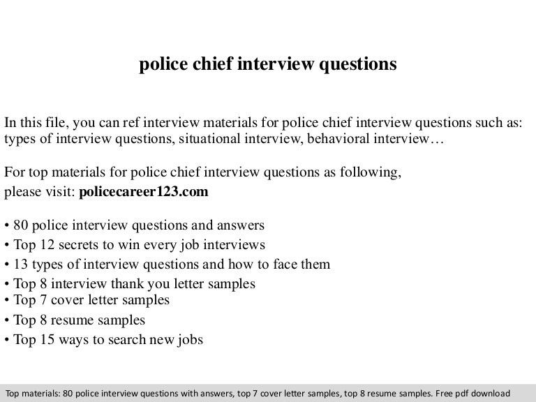 police chief resume examples fbi cover letter resume cv cover ...