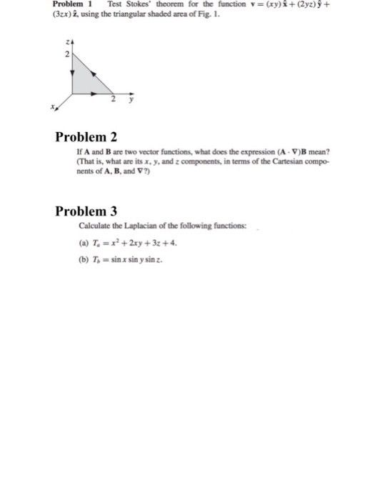 Test Stokes Theorem For The Function Y = (xy) X + ... | Chegg.com