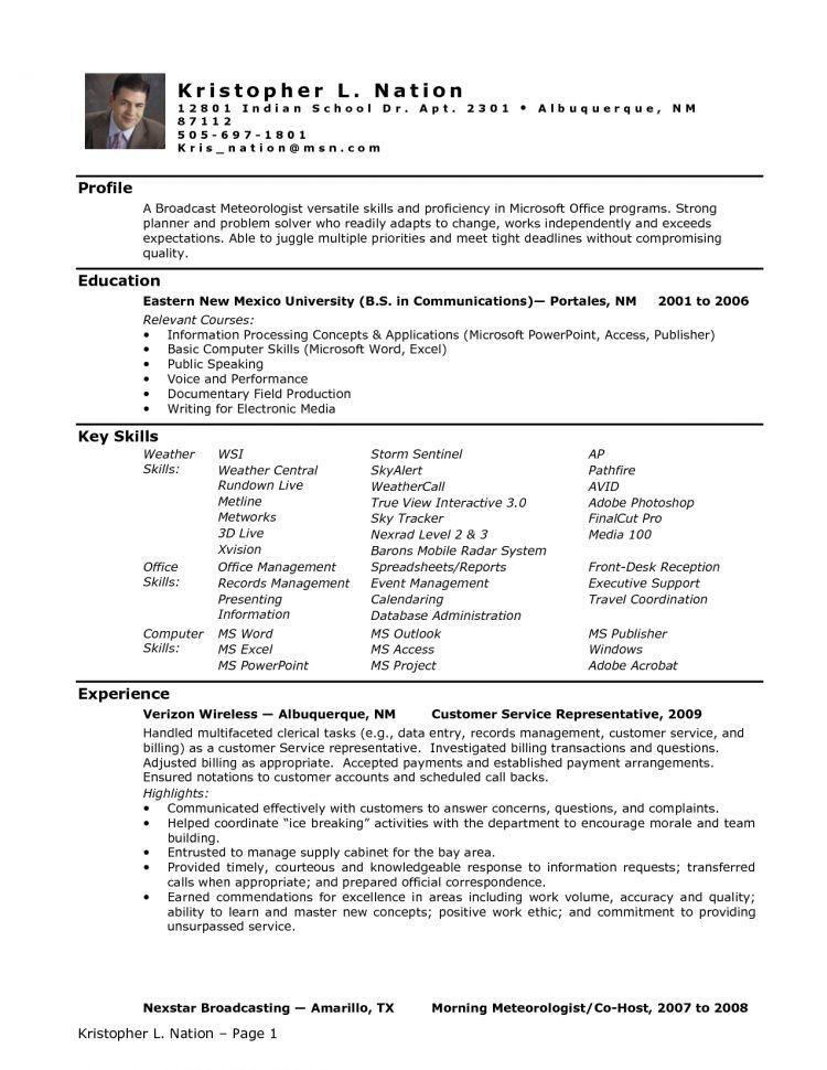 Entry Level Skills For Resume Entry Level Medical Assistant Resume ...