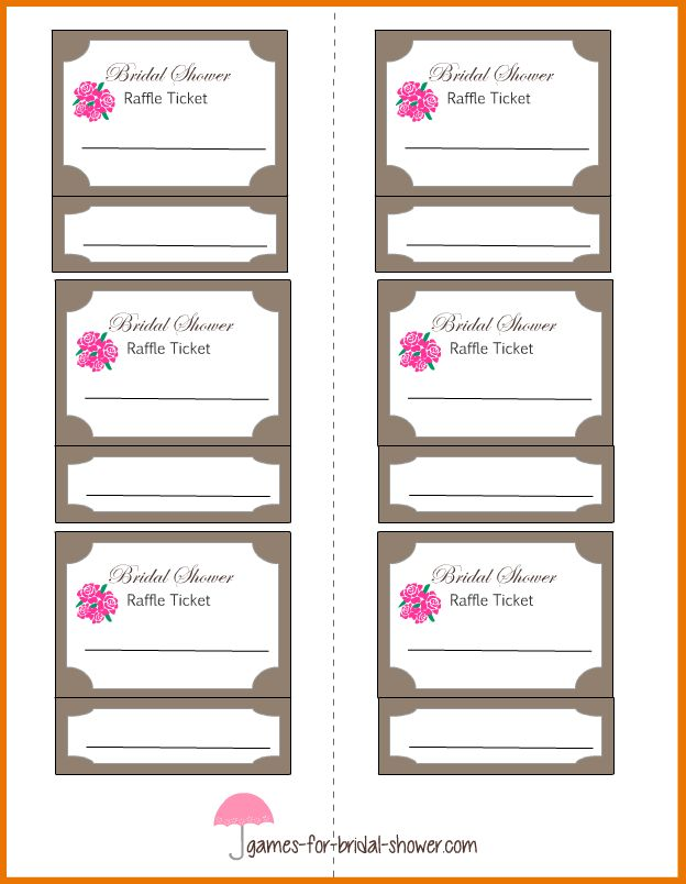 Avery Printable Tickets.template For Raffle Tickets.png | Scope Of ...
