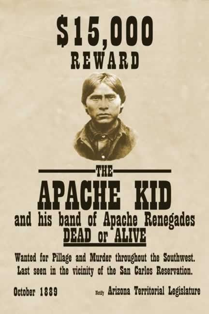 Most Wanted Poster - Native American Human Rights