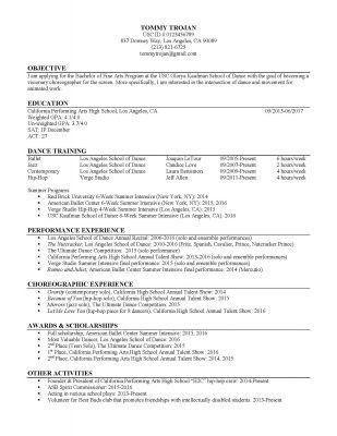 write a resume amp cover letter career center usc. write a resume ...