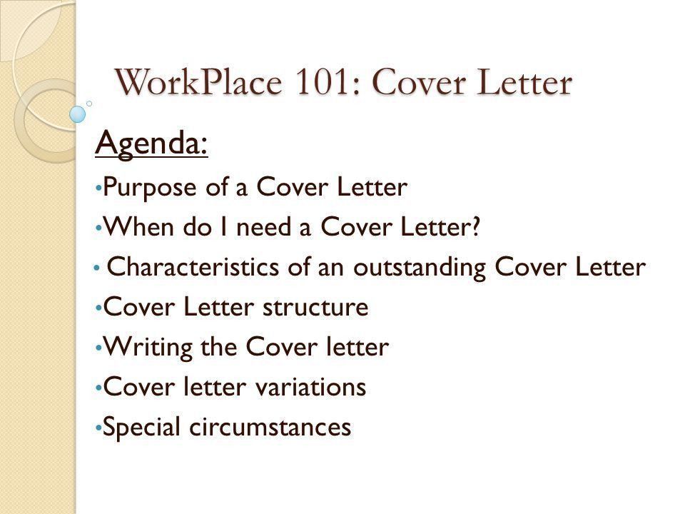 Concise Cover Letters LWTC Employment Resource Center W ppt download