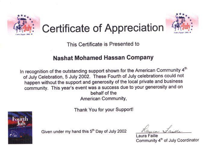 Employee Appreciation Certificate Wording   Like Success