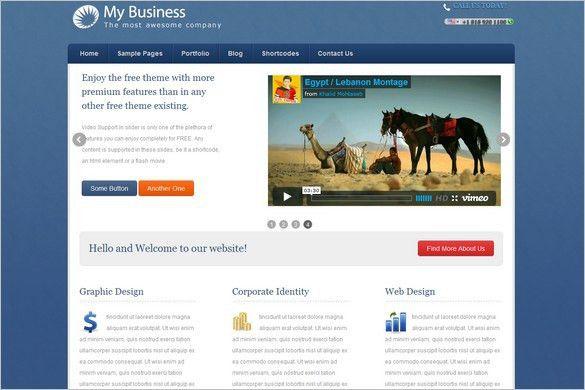 4 Free WordPress Themes from WPMeta