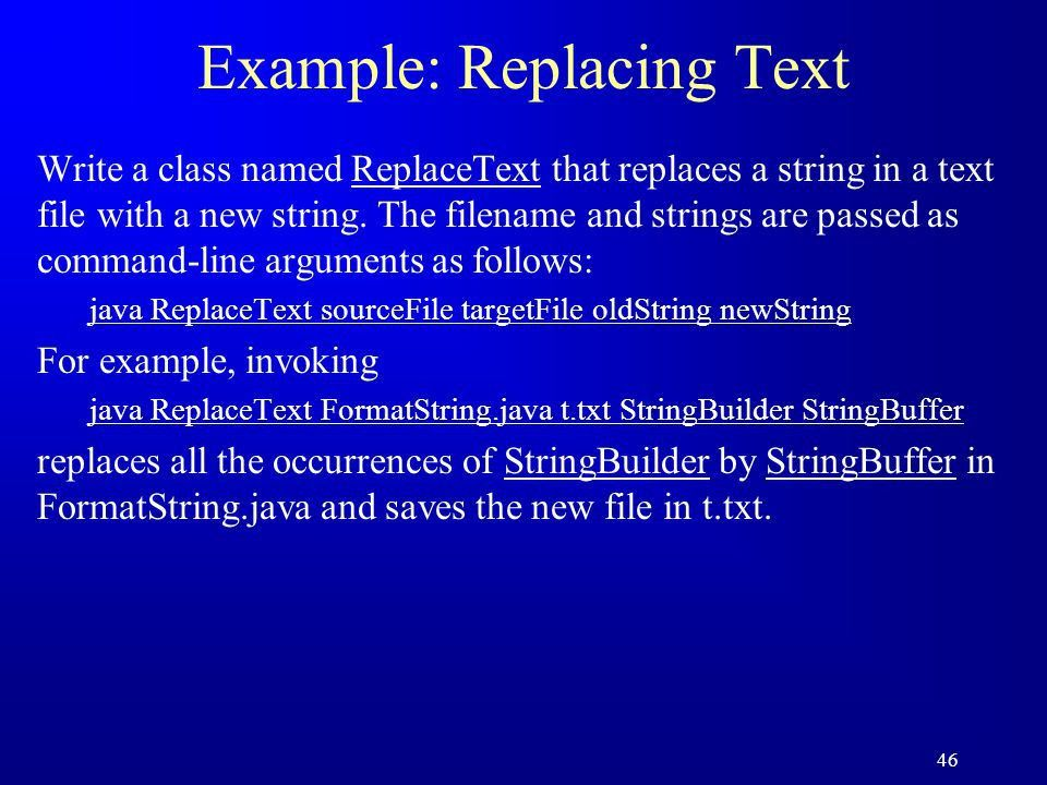 1 Chapter 9 Strings and Text I/O. 2 Objectives F To use the String ...