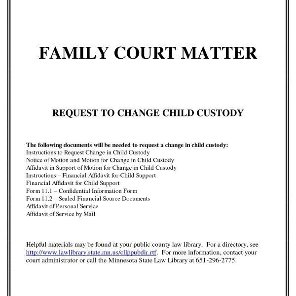 Child Custody Presentation Template - Tomyads.info