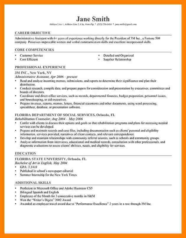 career change resume objective statement examples career
