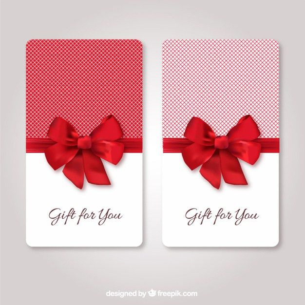 Gift Card Template. Free Gift Certificate Template And Tracking ...