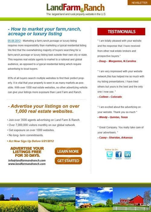 54 best Custom Designed Email Templates images on Pinterest ...