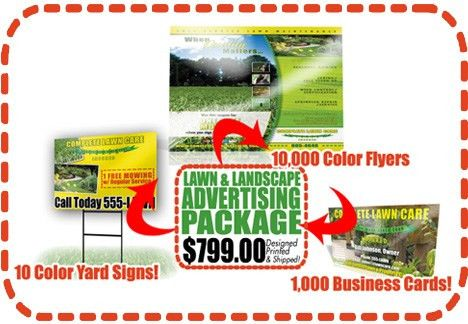 Lawn Care Flyers - Landscaping Flyers - Lawn Flyers - Marketing ...
