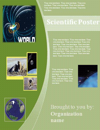Scientific Poster Template | All Free Word Templates