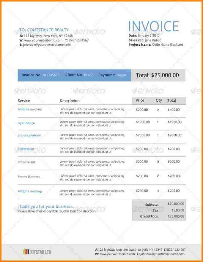 Quotation Template. 9+ Web Quotation Template | Theatre Resume ...