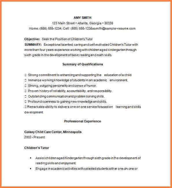 12 math tutor resume sample resume cover note