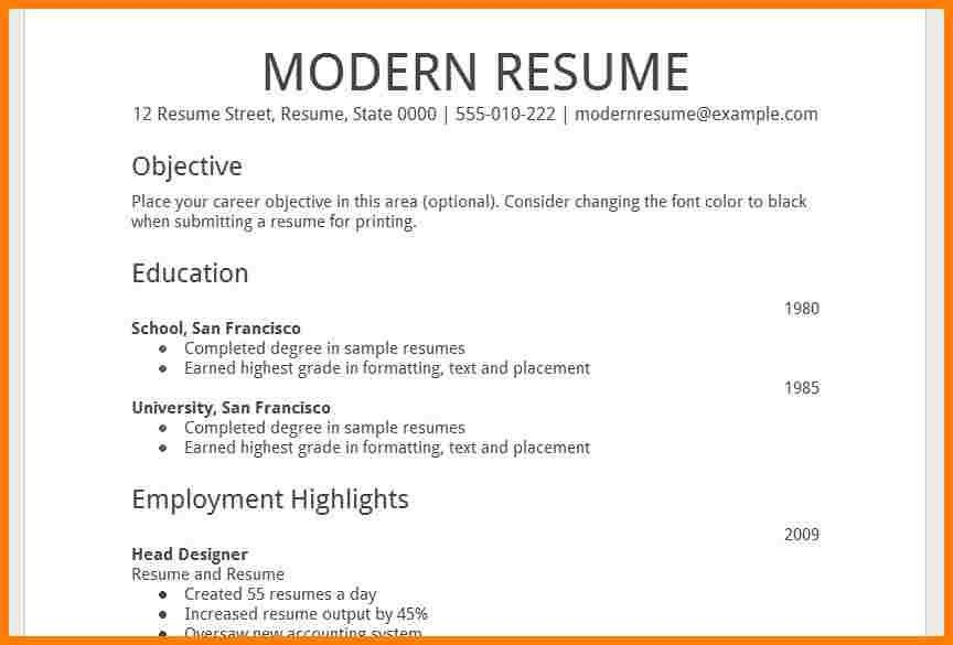 Amazing Resume Templates Google 10 Template Docs - CV Resume Ideas