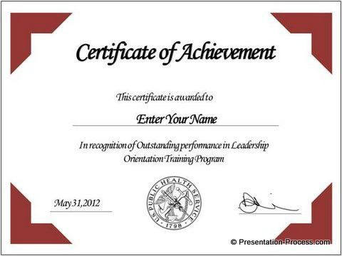 free certificate template powerpoint - Google Search | american ...