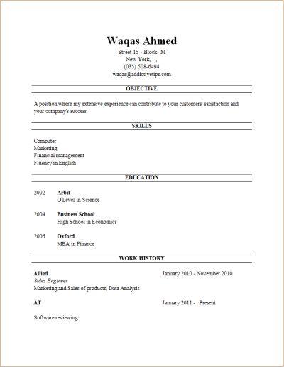 Professional Resume Builders - Resume CV Cover Letter