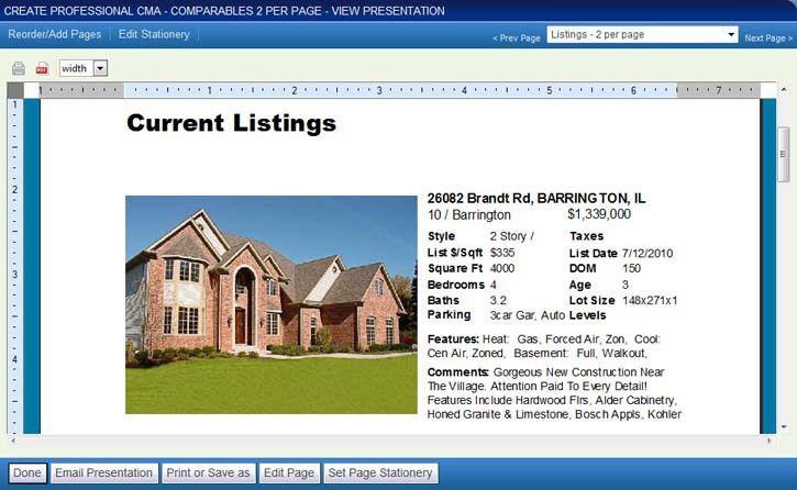 listing presentation real estate template listing presentation ...