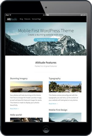 Premium WordPress Themes & WordPress Templates