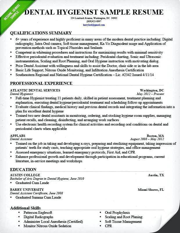 Dental Assistant Resume Skills – Okurgezer.co