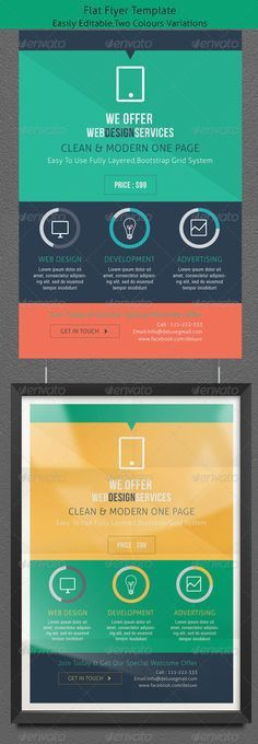 Mobile App Trifold Brochure vol.1 | Brochures, Mobile app and Psd ...