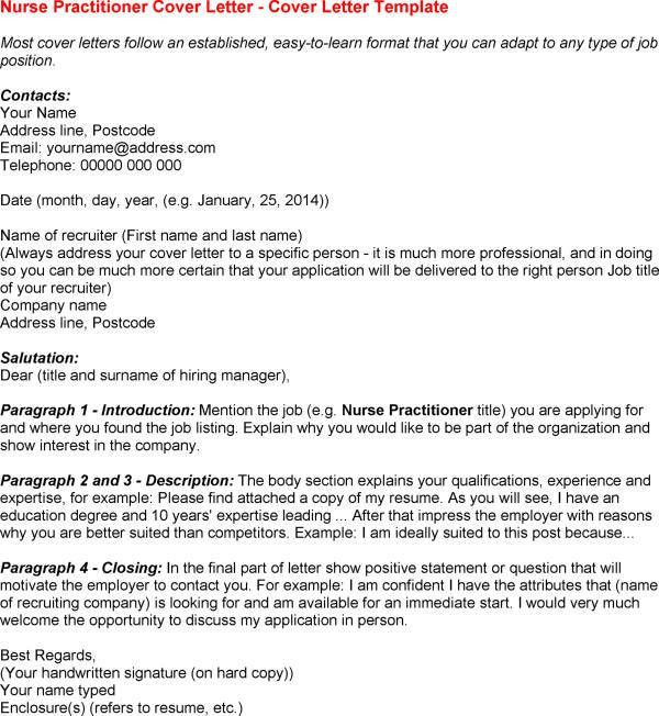 12 Nurse Practitioner Cover Letter | Riez Sample Resumes | Riez ...