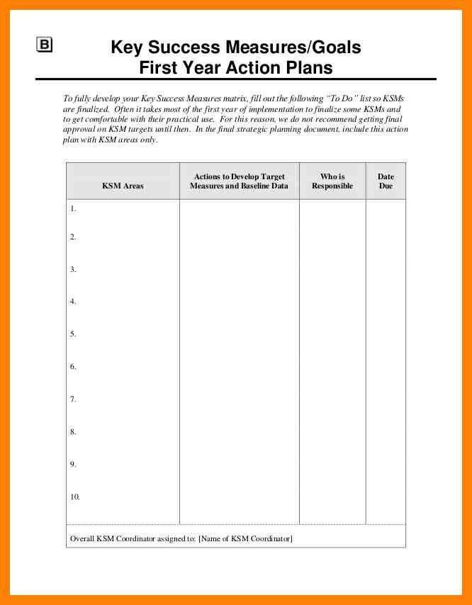 4+ strategic action plan template | cv for teaching