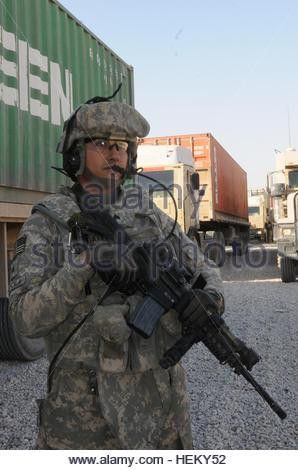 A re-supply convoy Iraq Stock Photo, Royalty Free Image: 107878488 ...