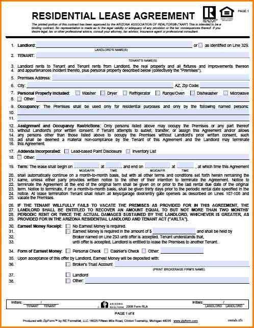 Lease Rental Agreement. Printable Nanny Memos Home Turkey Paper ...