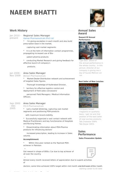 Regional Sales Manager Resume samples - VisualCV resume samples ...