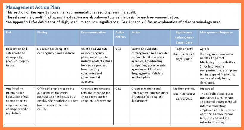 11+ audit plan format | Bussines Proposal 2017