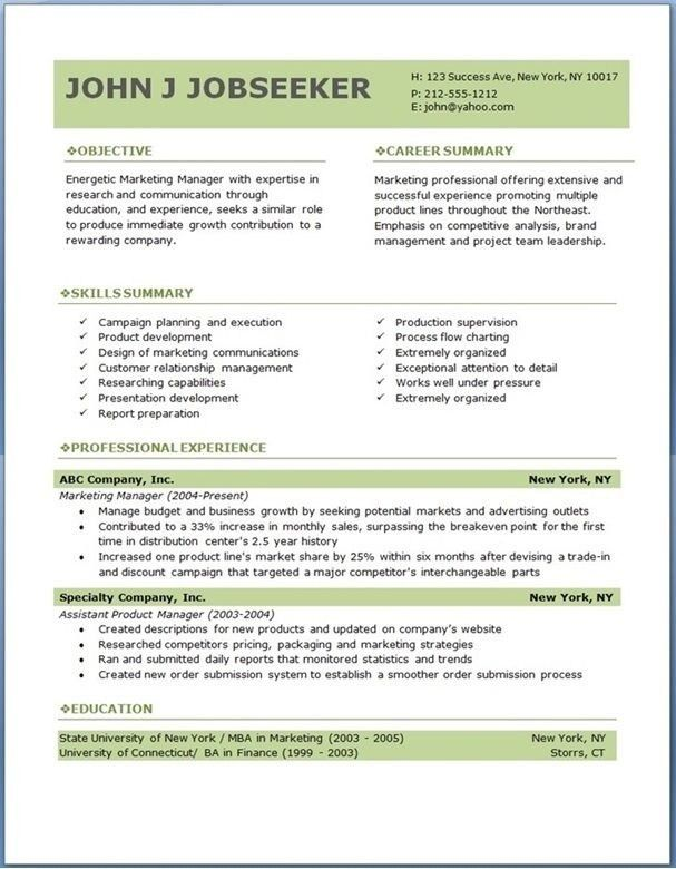 ats resume format example resume style tips 4 resume styles that ...