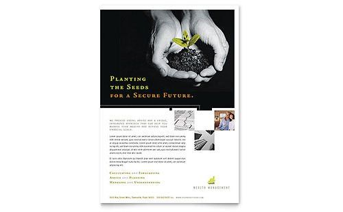 Financial Services Flyers | Templates & Designs