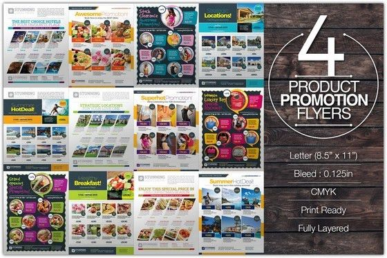 15+ Best Promotional Flyer Templates PSD - Web Creative All